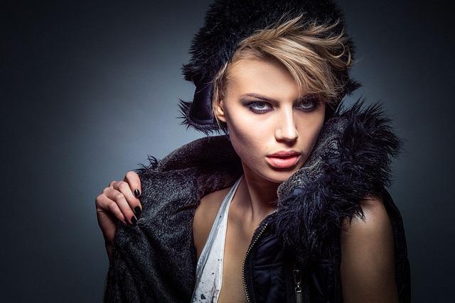 modelka s vestou