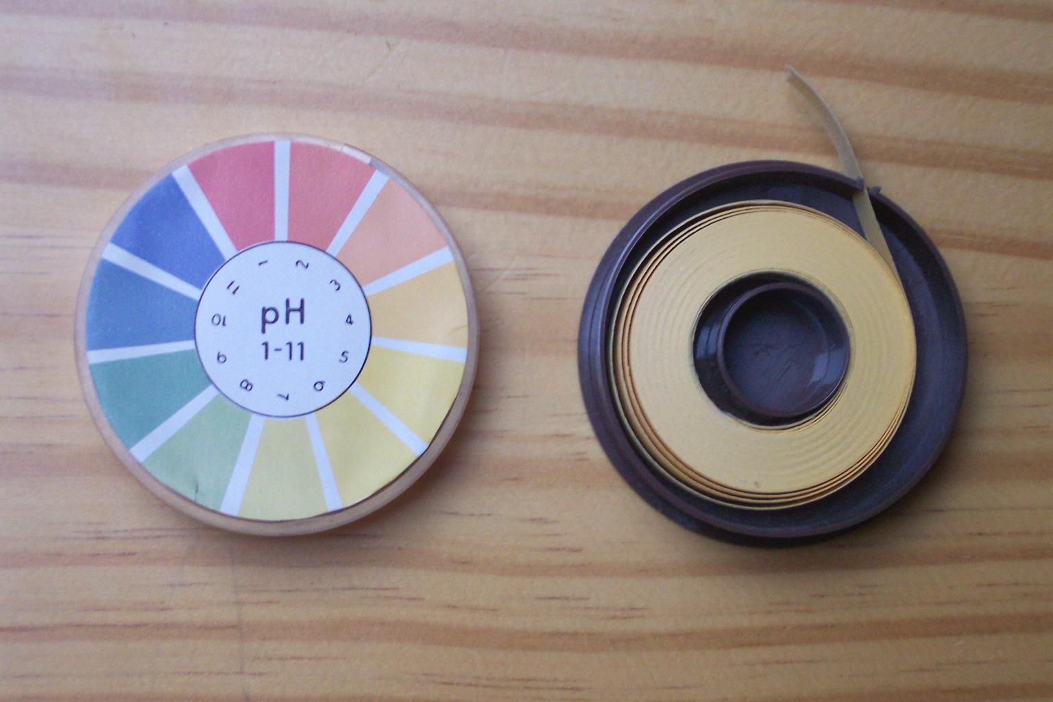 pH papírek