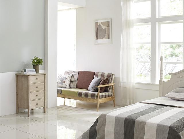 Ložnice, ve které si skutečně odpočinete